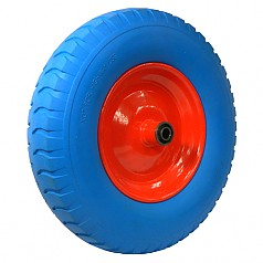 400-8 일체형 고탄력바퀴 / SR16-BL