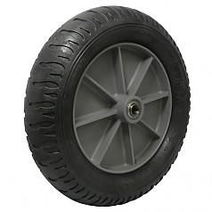 13-3 일체형 발포바퀴(흑) / SR13-BK
