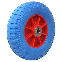 350-5 일체형 발포바퀴(청) / SR12-BL