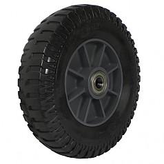 350-5 일체형 발포바퀴(흑) / SR12-BK