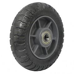 250-4 일체형 발포바퀴(흑) / SR08-BK